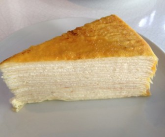 Mille Crepe Cake From Lady M